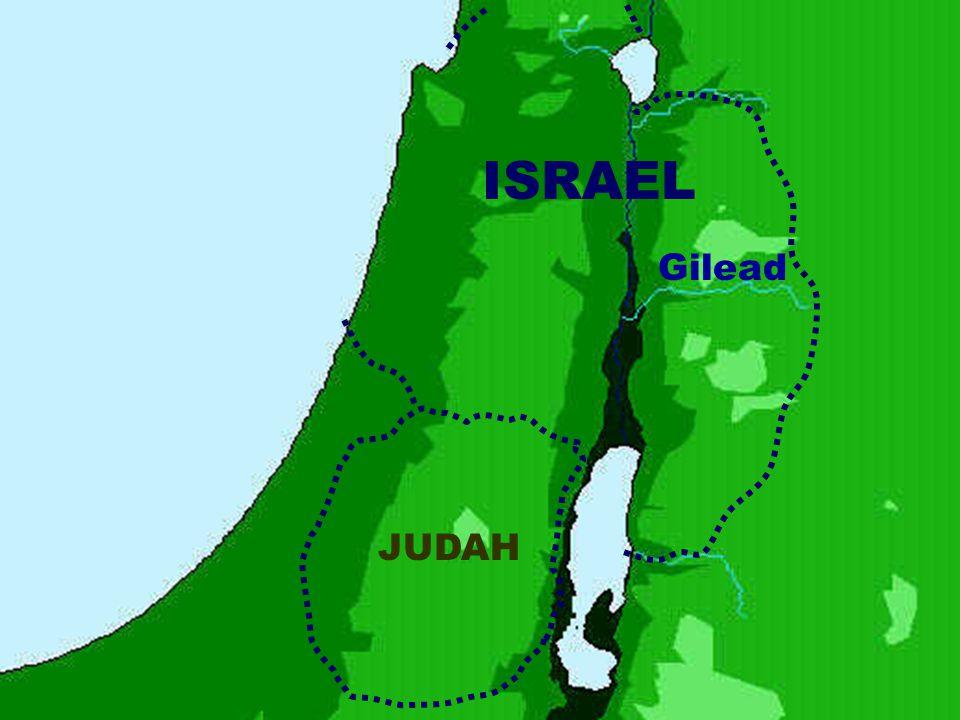 ISRAEL Gilead JUDAH