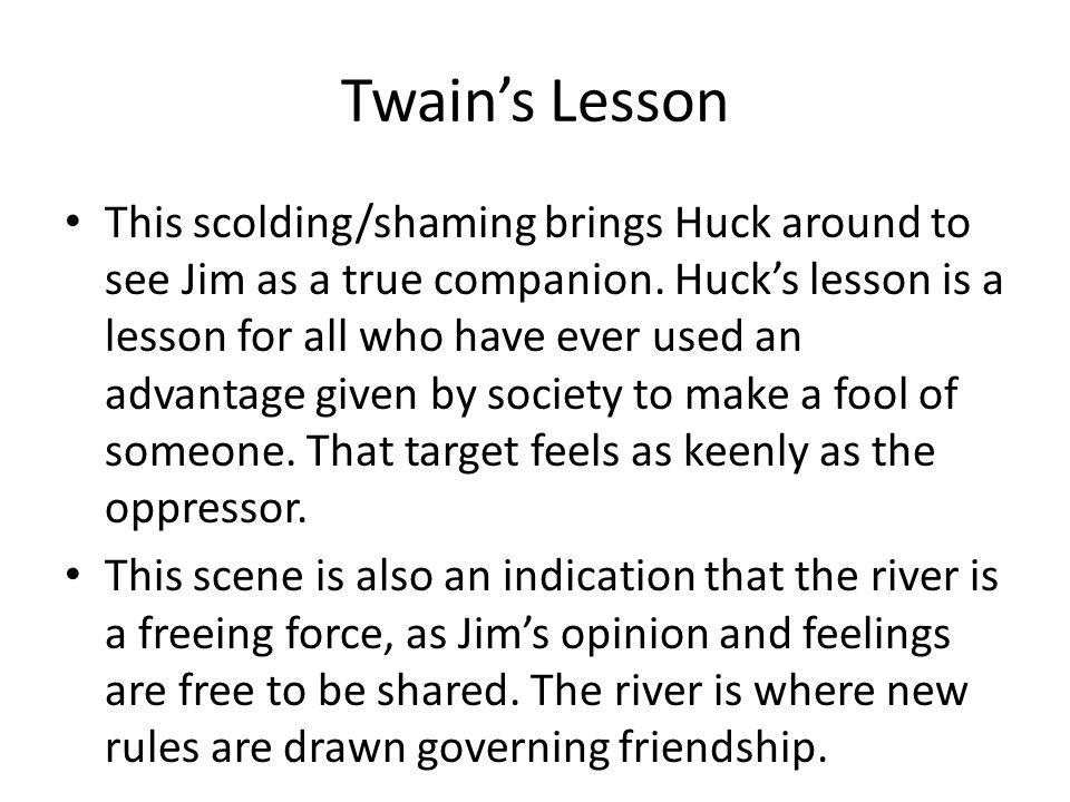 Twain's Lesson