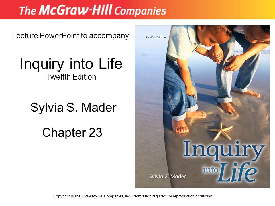 Inquiry into Life Twelfth Edition