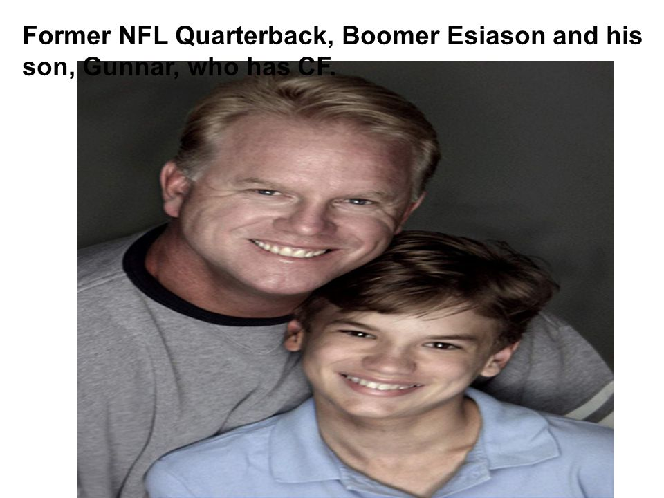 Former NFL Quarterback, Boomer Esiason and his
