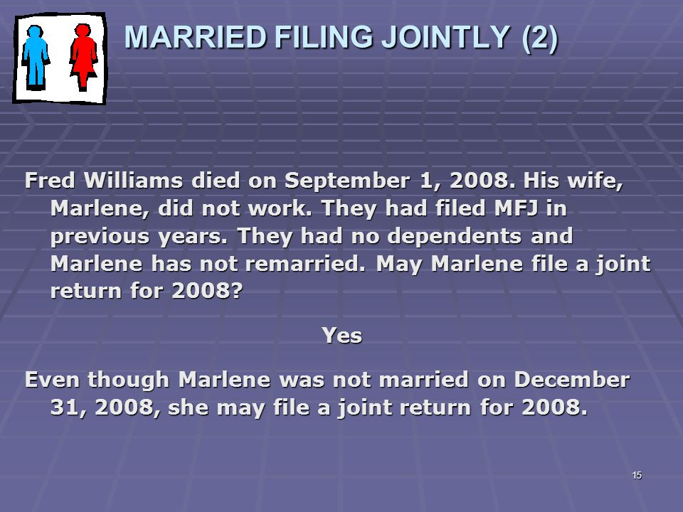 MARRIED FILING JOINTLY (2)