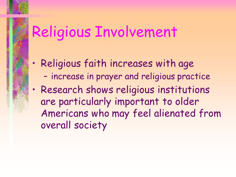 Religious Involvement