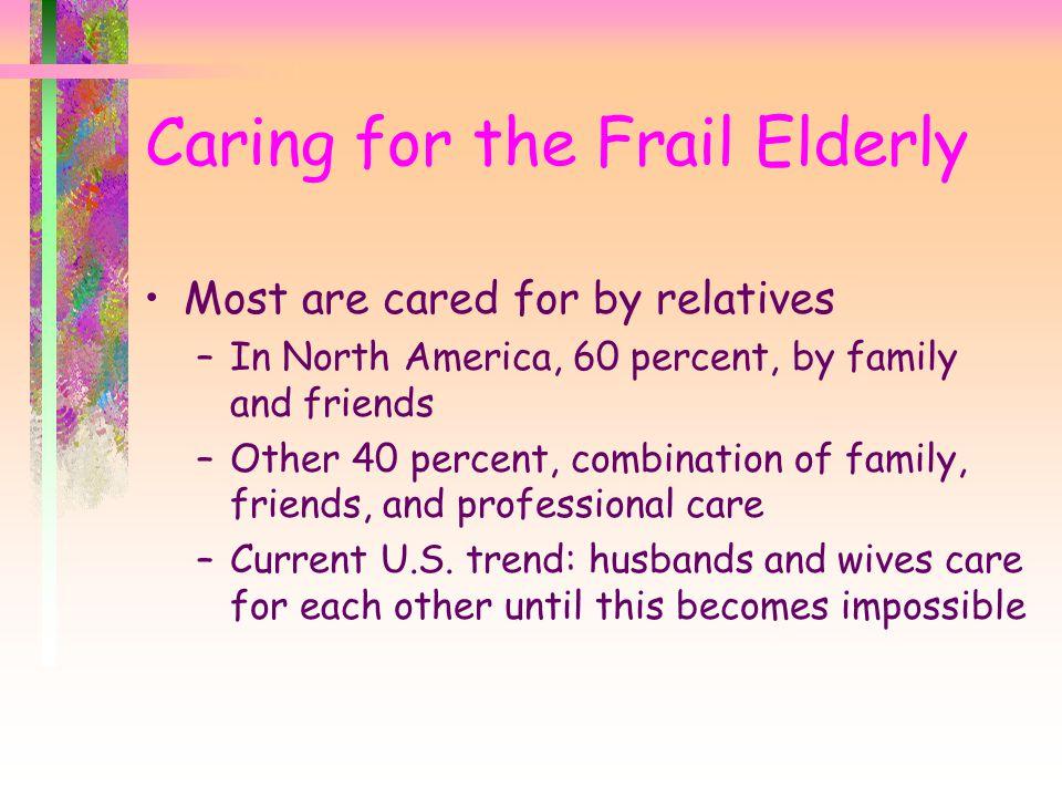 Caring for the Frail Elderly
