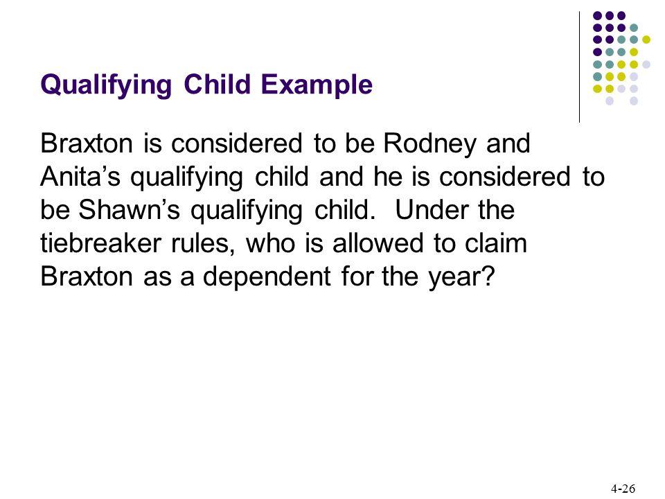 Qualifying Child Example