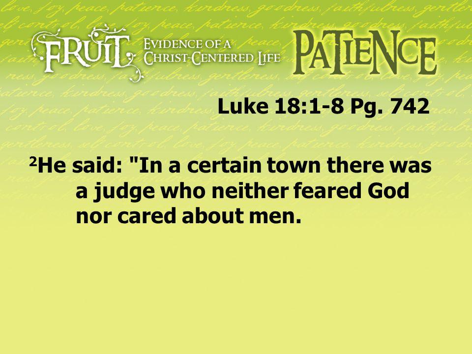Luke 18:1-8 Pg.