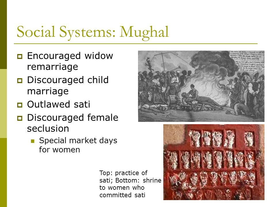 Social Systems: Mughal