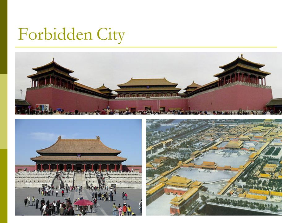 ppt about forbidden city essay The forbidden city bejing china-essay requirements: minimum word count: 1000 words (6-10 paragraphs) 4-6 sources using mla or apa format discovery essay 2 (option.