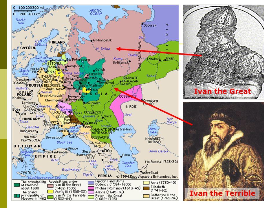 Ivan the Great Ivan the Terrible