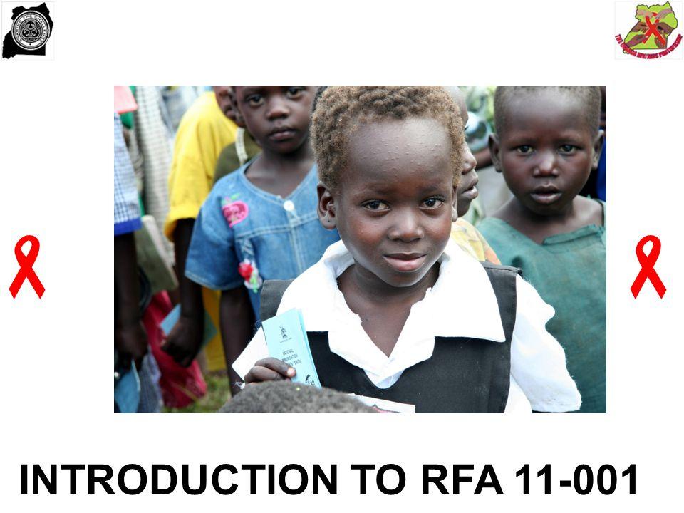   INTRODUCTION TO RFA 11-001