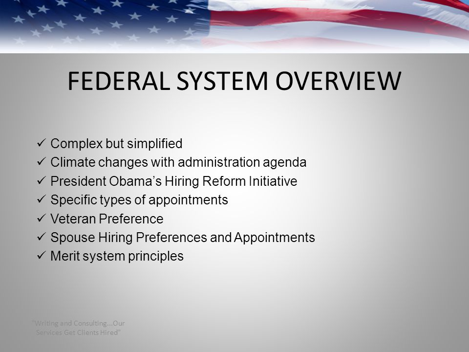 FEDERAL SYSTEM OVERVIEW