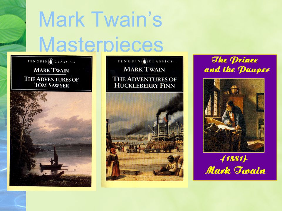Mark Twain's Masterpieces