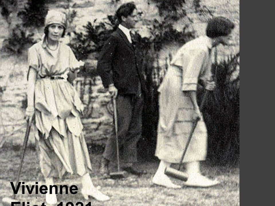 Vivienne Eliot, 1921