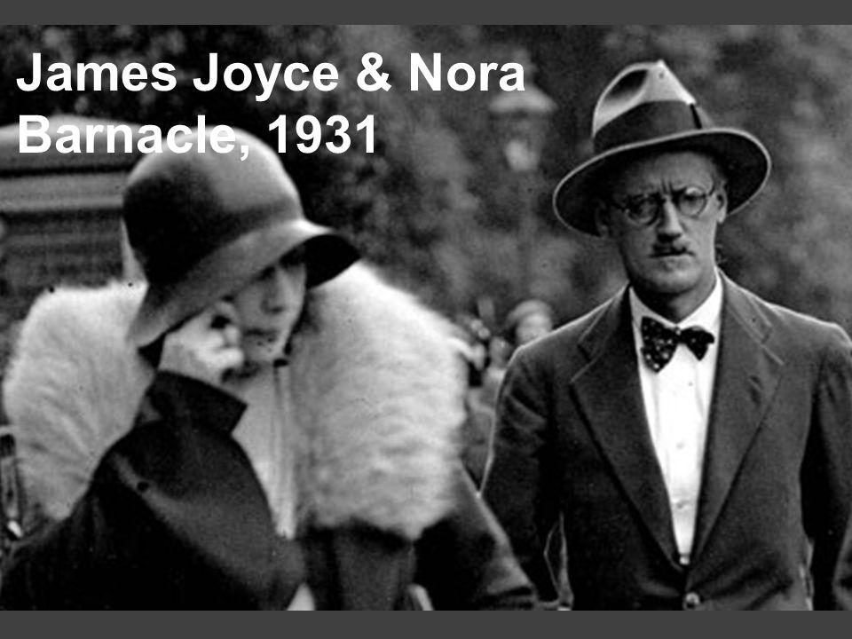 James Joyce & Nora Barnacle, 1931