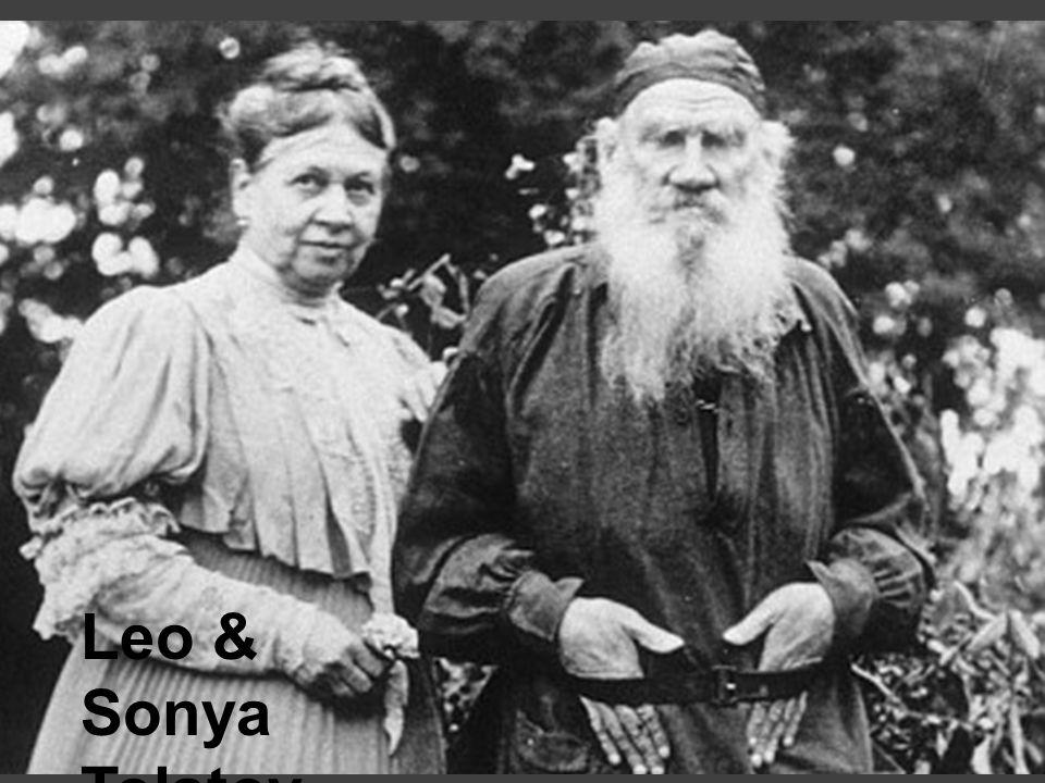 Leo & Sonya Tolstoy, 1890's
