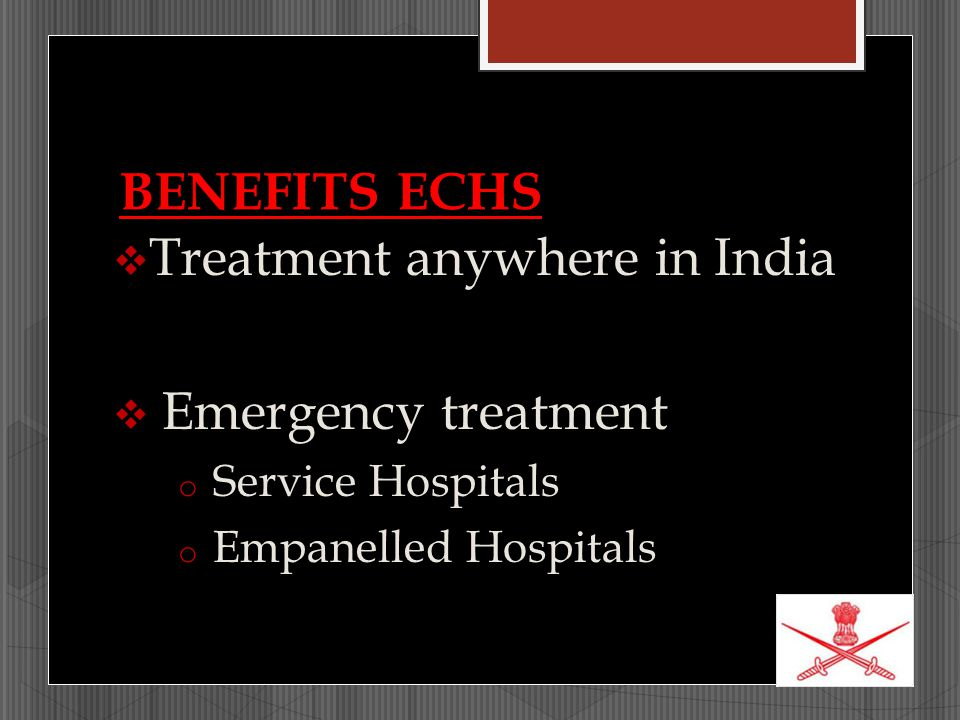 Treatment anywhere in India Emergency treatment