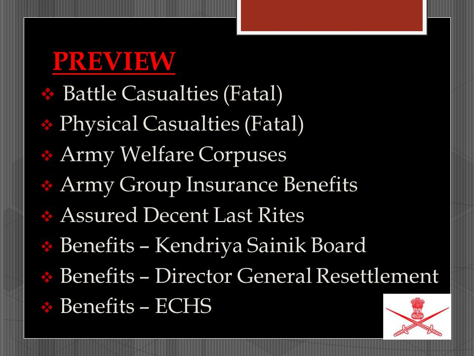 PREVIEW Battle Casualties (Fatal) Physical Casualties (Fatal)