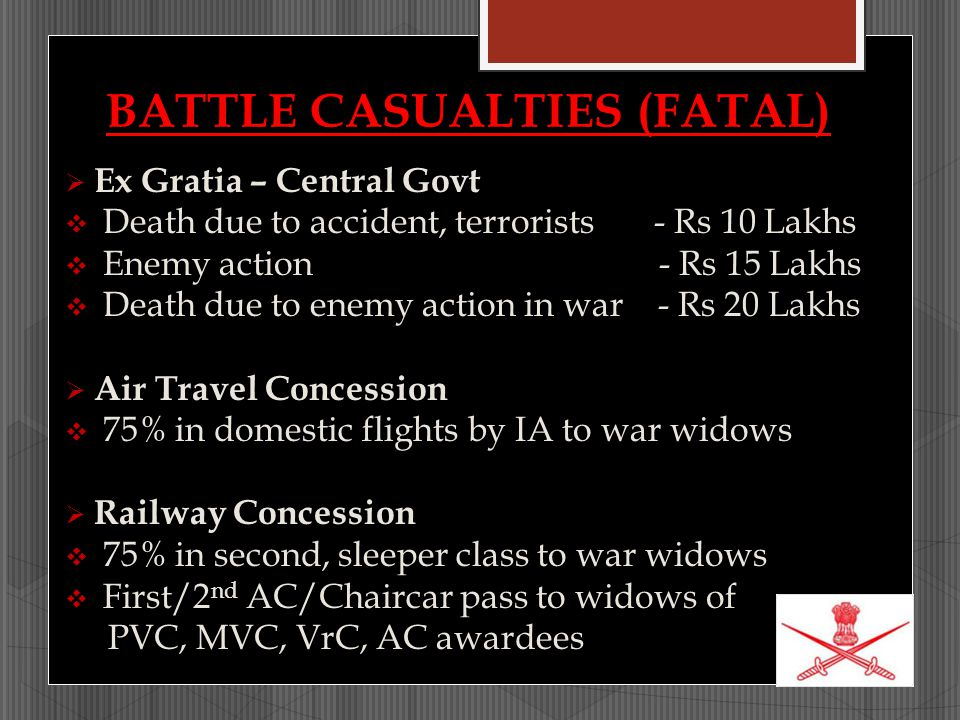 BATTLE CASUALTIES (FATAL)