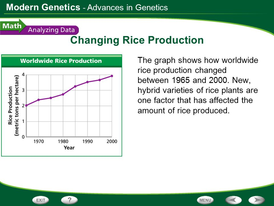 Changing Rice Production