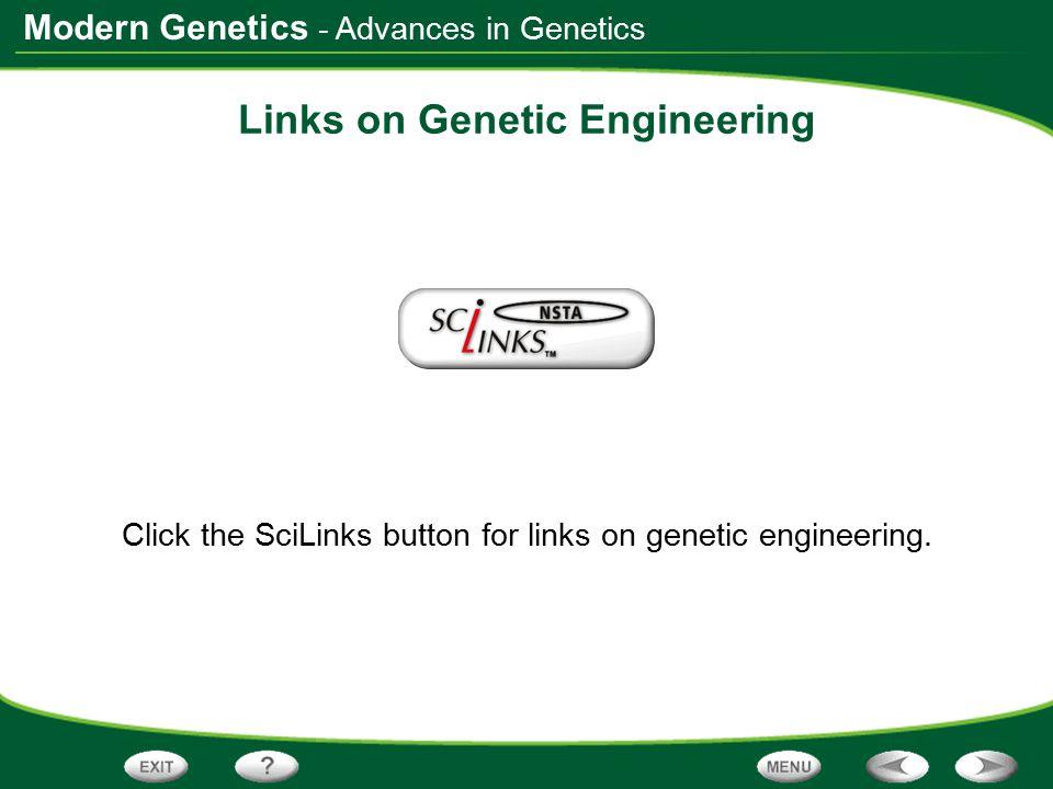 Links on Genetic Engineering