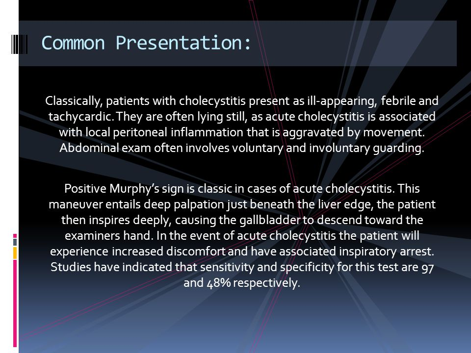 Common Presentation: