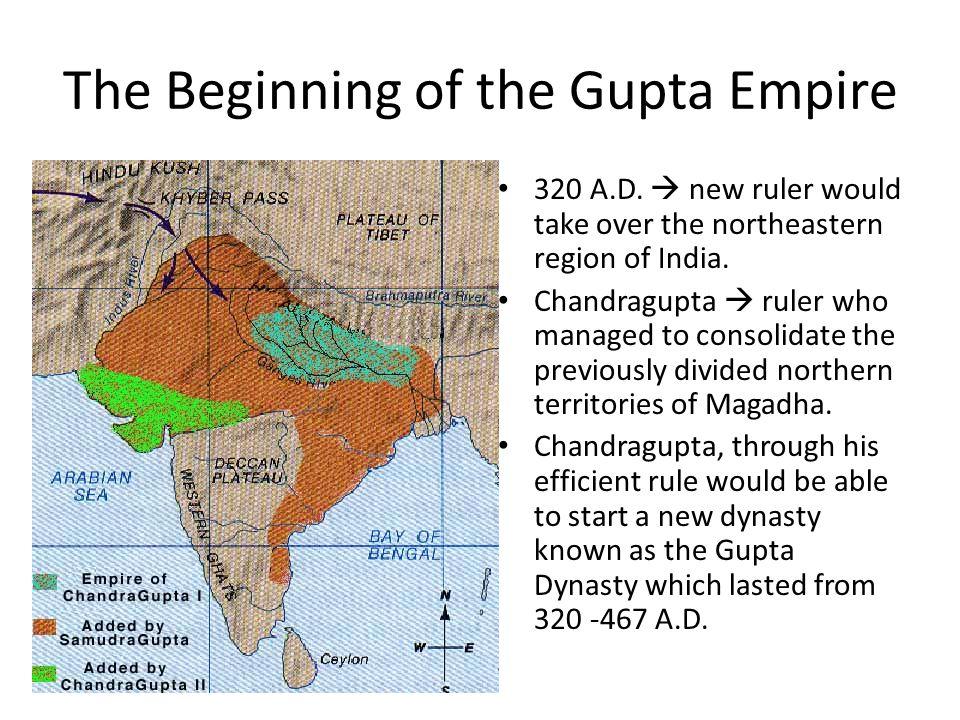 The Beginning of the Gupta Empire