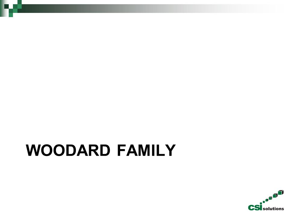 Woodard family