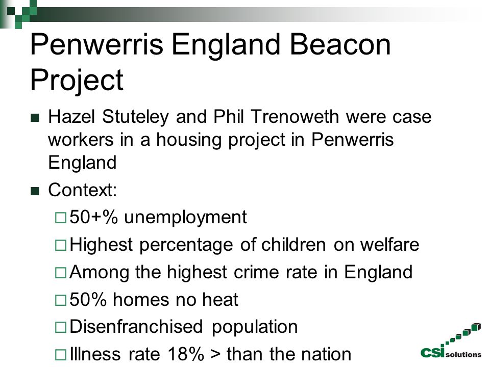 Penwerris England Beacon Project