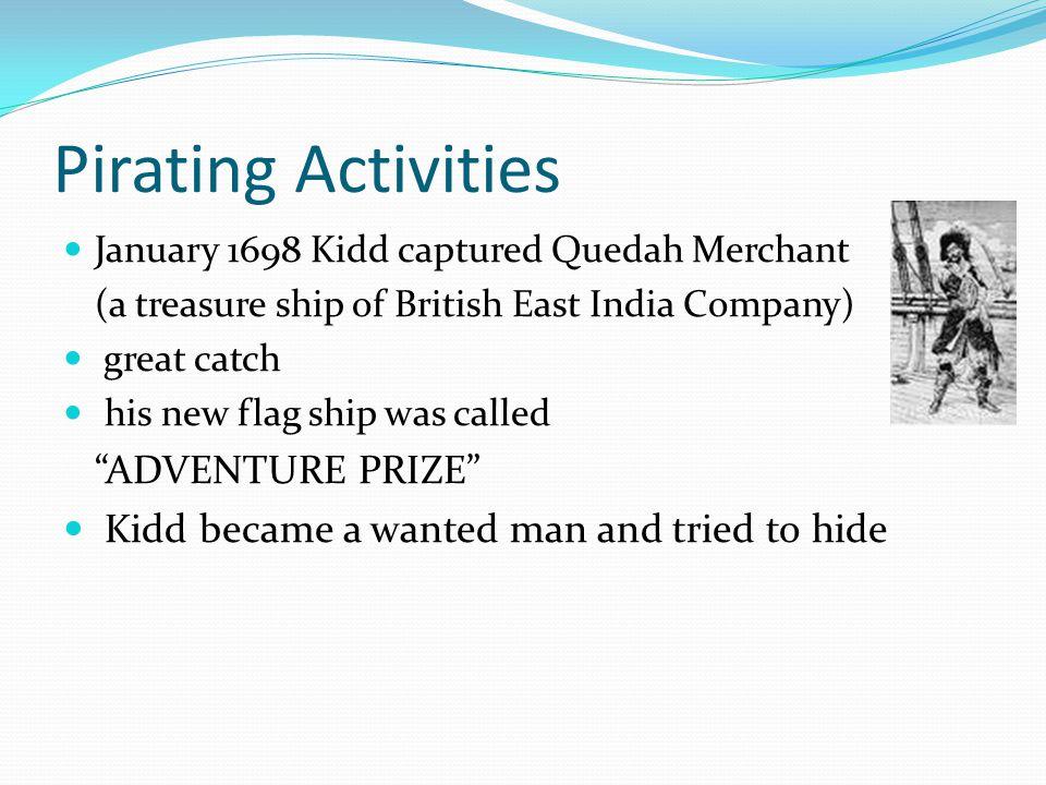 Pirating Activities ADVENTURE PRIZE