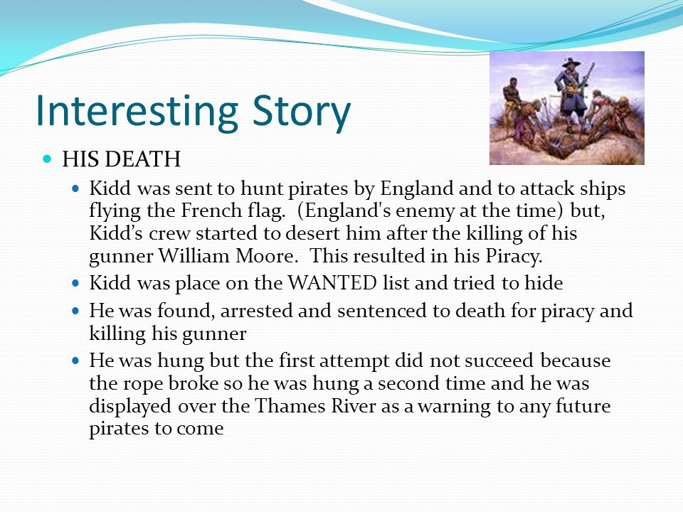 Interesting Story HIS DEATH