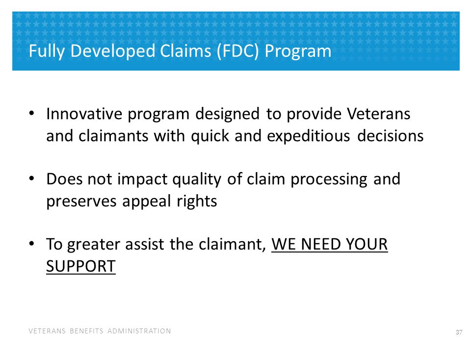 How Does FDC Program Work