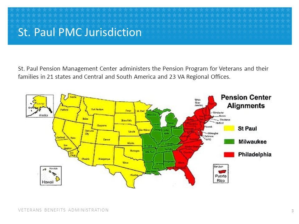 St. Paul PMC Overview # of Beneficiaries Served - 303,046 Annual Benefit Payments - $3.88 billion