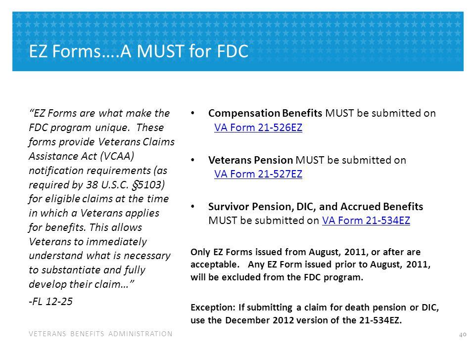 FDC – Special Circumstances