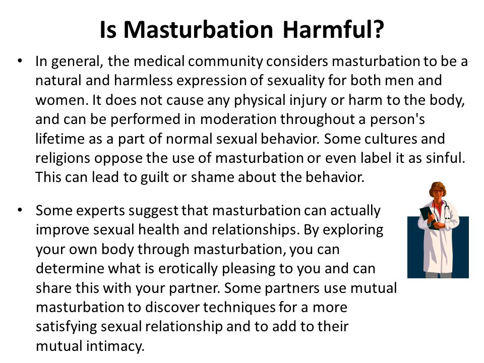 Is Masturbation Harmful