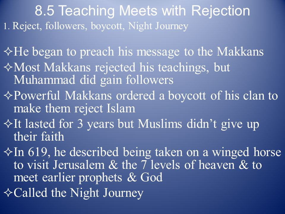8.5 Teaching Meets with Rejection