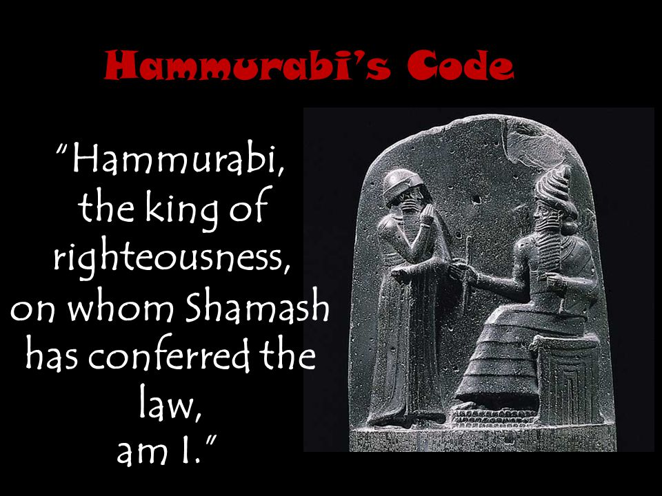 the king of righteousness, on whom Shamash has conferred the law,