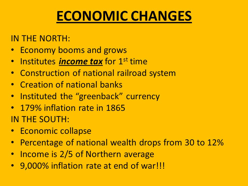 ECONOMIC CHANGES IN THE NORTH: Economy booms and grows