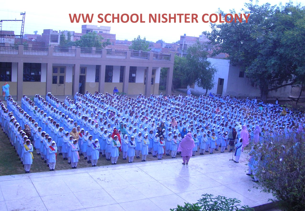 WW SCHOOL NISHTER COLONY