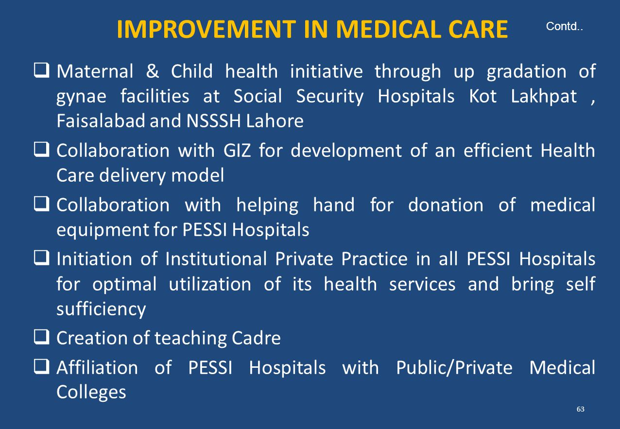 IMPROVEMENT IN MEDICAL CARE