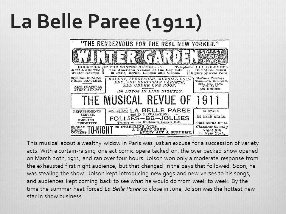 La Belle Paree (1911)