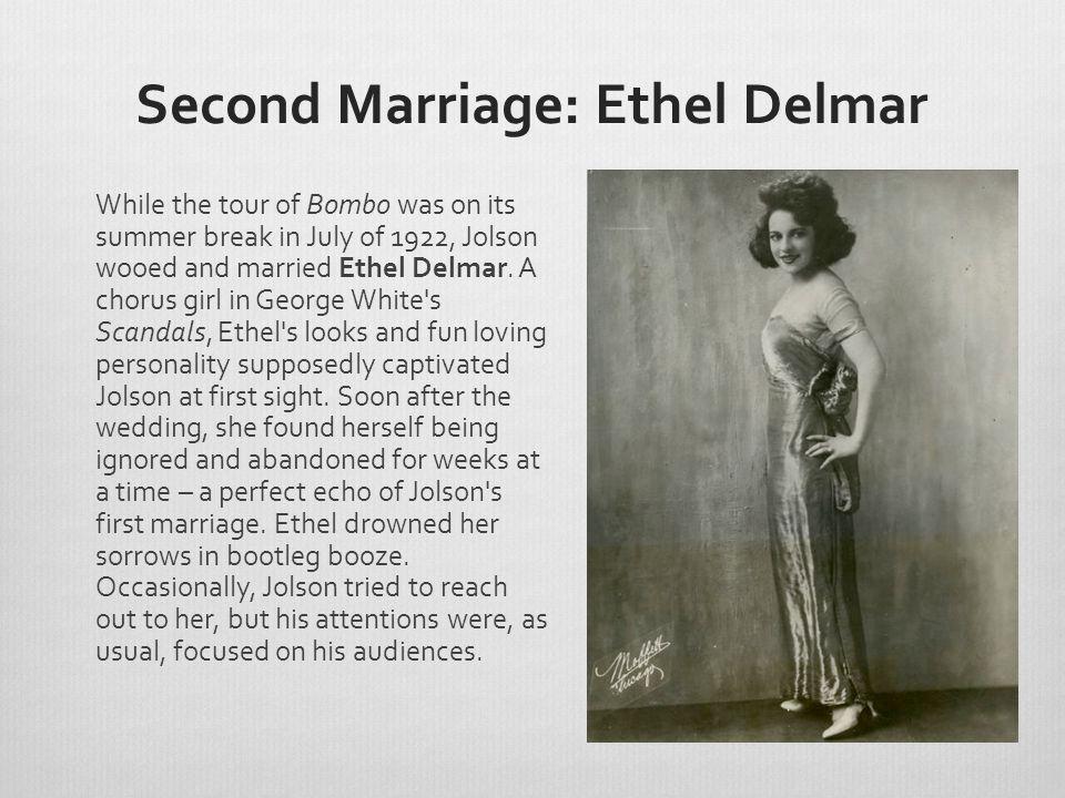 Second Marriage: Ethel Delmar