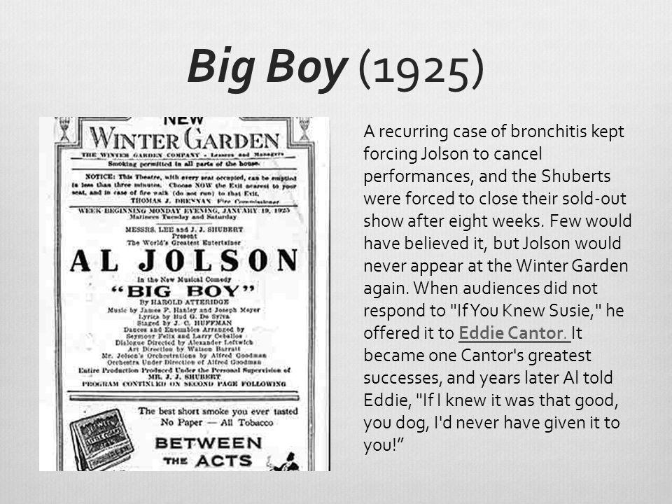 Big Boy (1925)
