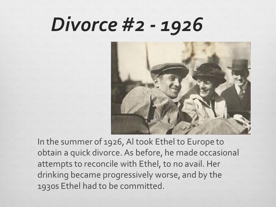 Divorce #2 - 1926