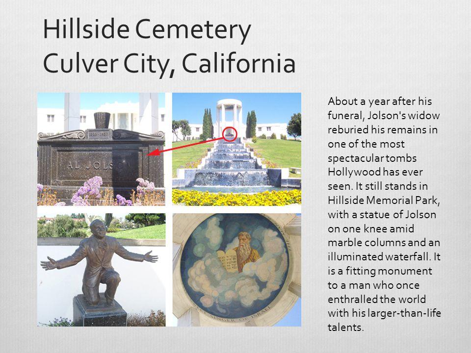 Hillside Cemetery Culver City, California