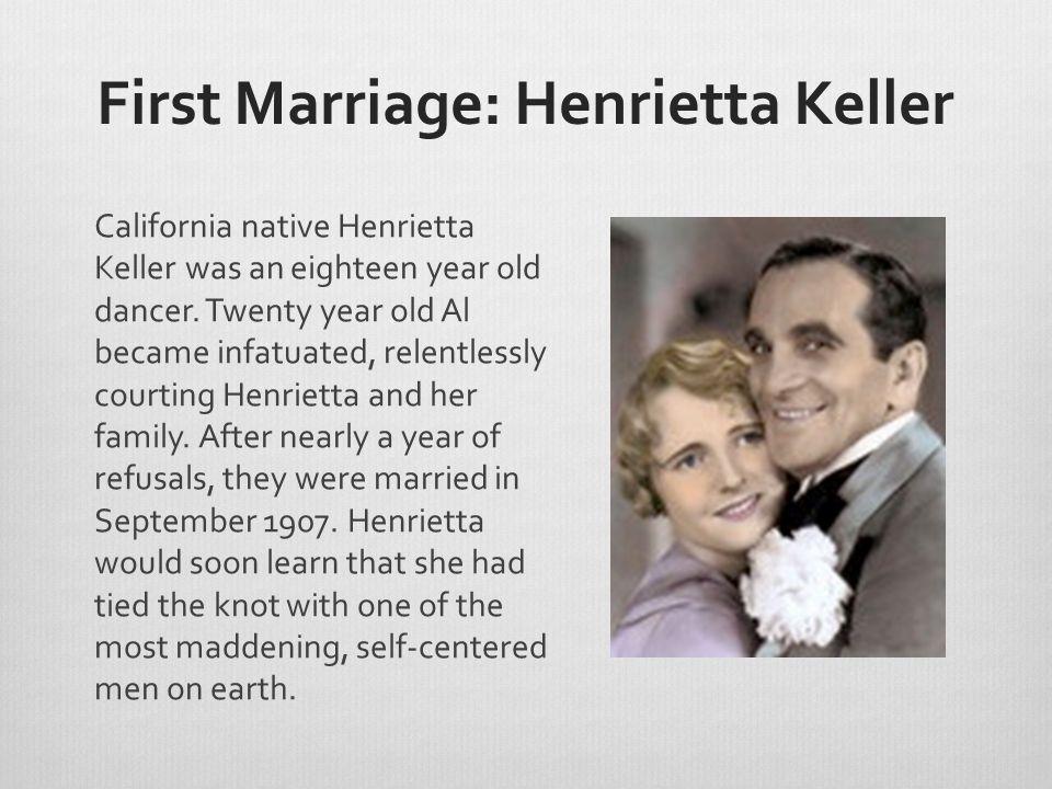First Marriage: Henrietta Keller