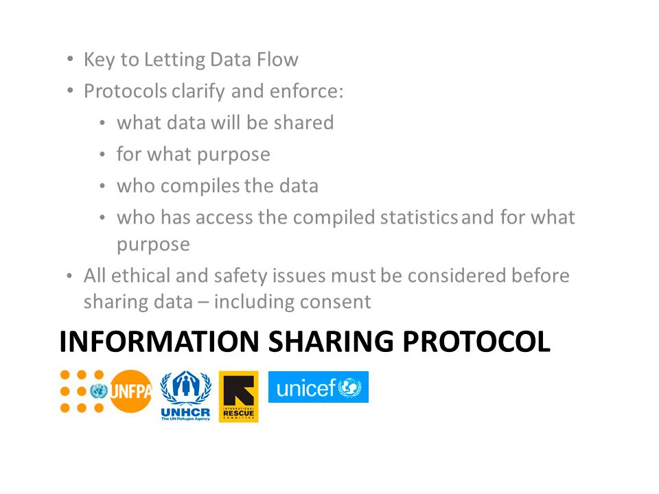 Information Sharing Protocol