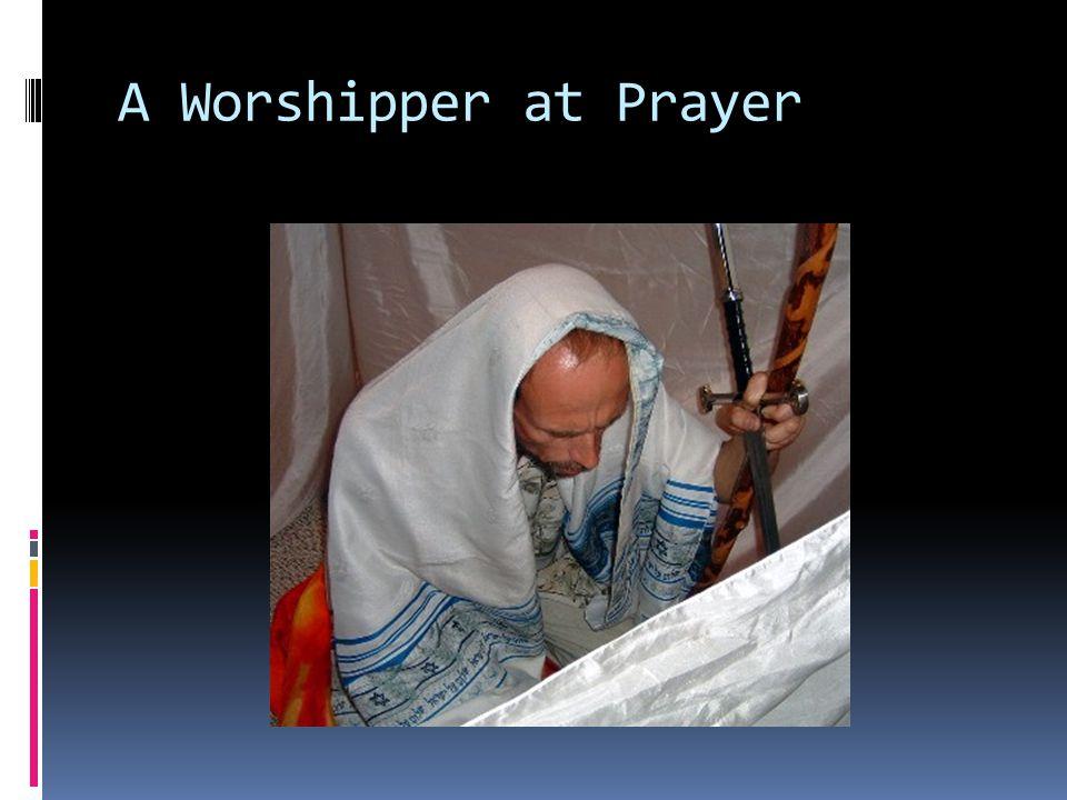 A Worshipper at Prayer