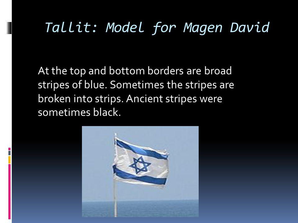 Tallit: Model for Magen David