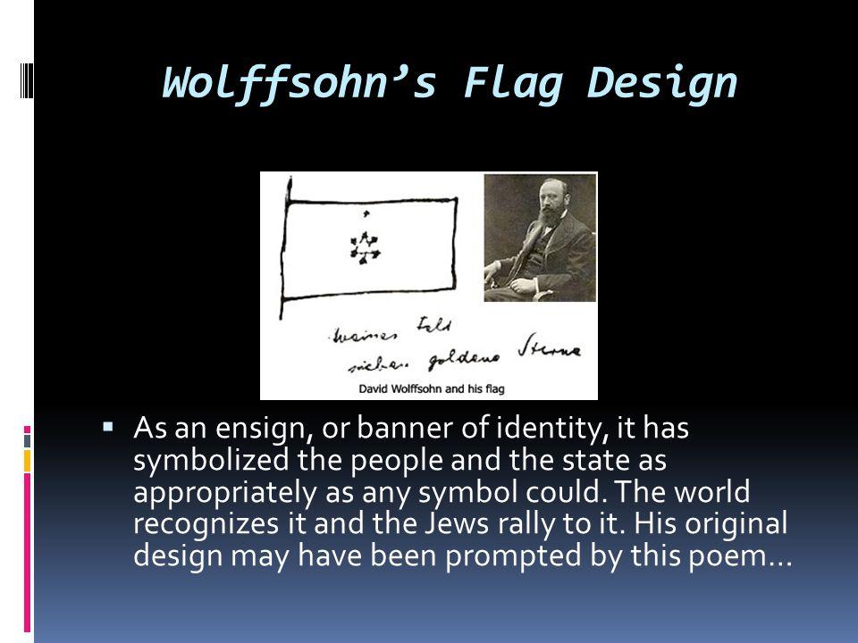Wolffsohn's Flag Design