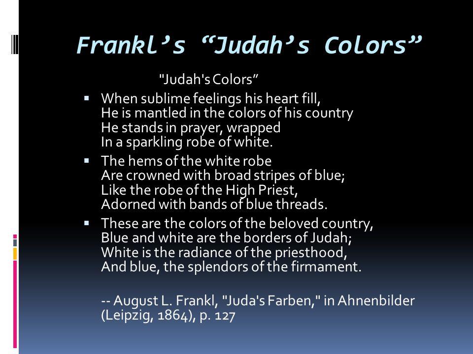 Frankl's Judah's Colors
