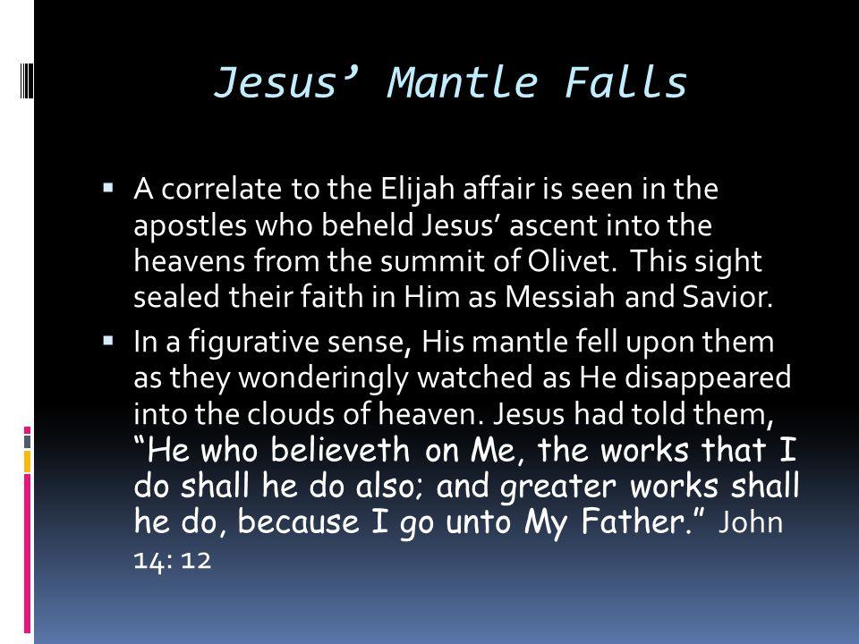 Jesus' Mantle Falls